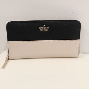 NWOT Kate Spade Cameron St Lacey Leather Wallet